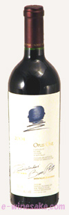オーパス・ワン カリフォルニア赤ワイン